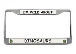 Dinosaur License Plate Frame
