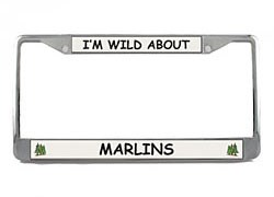 Marlin License Plate Frame