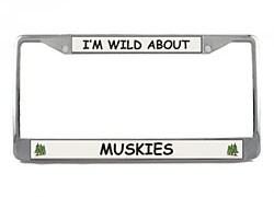 Muskie License Plate Frame