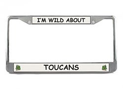 Toucan License Plate Frame