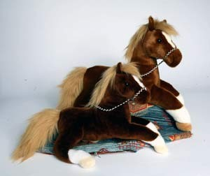 Brown Horse Plush 16 Inch