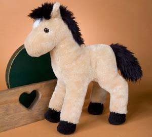 Buckskin Horse Plush