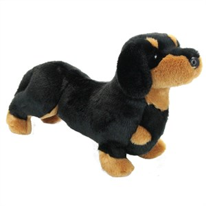 Black & Tan Dachshund Plush