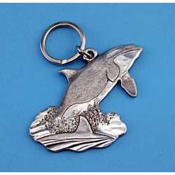 Orca Whale Keychain