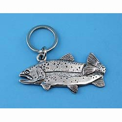 Trout Keychain