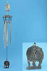 Rhinoceros Windchime