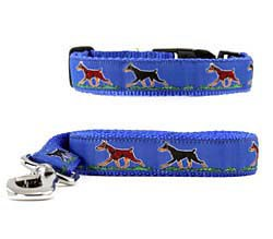 Doberman Pinscher Collar & Leash