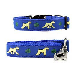 Wheaten Terrier Collar & Leash