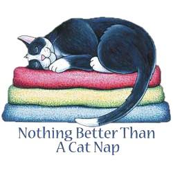 Cat T-Shirt - Cat Nap