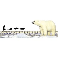 Polar Bear T-T-Shirt - Scenic
