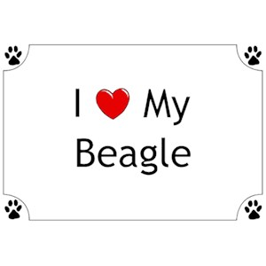 Beagle T-Shirt - I love my