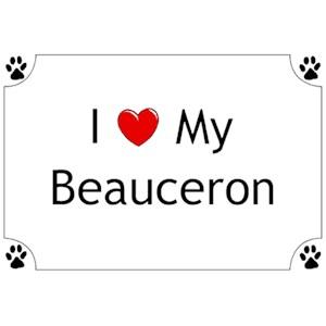 Beauceron T-Shirt - I love my