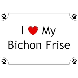Bichon Frise T-Shirt - I love my