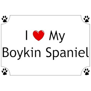 Boykin Spaniel T-Shirt - I love my