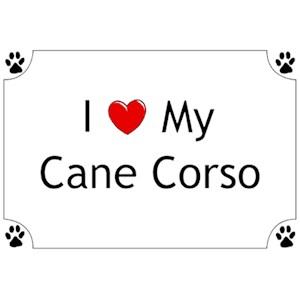 Cane Corso T-Shirt - I love my