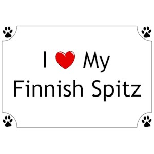 Finnish Spitz T-Shirt - I love my
