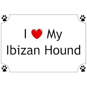 Ibizan Hound T-Shirt - I love my