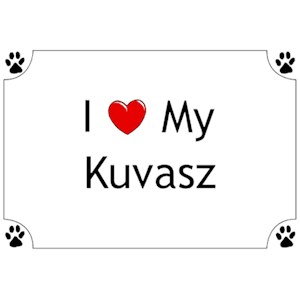 Kuvasz T-Shirt - I love my