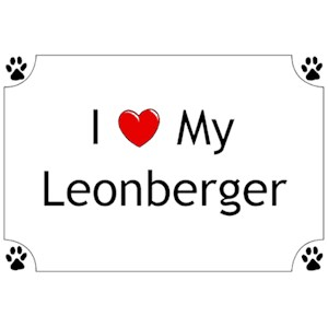 Leonberger T-Shirt - I love my