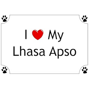 Lhasa Apso T-Shirt - I love my