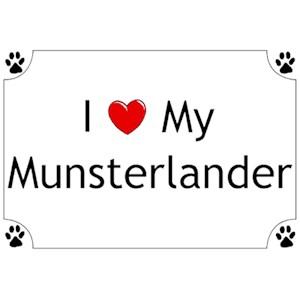 Munsterlander T-Shirt - I love my
