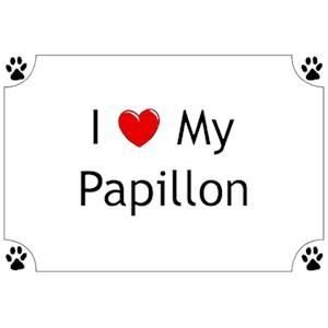 Papillon T-Shirt - I love my