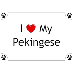 Pekingese T-Shirt - I love my