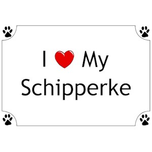 Schipperke T-Shirt - I love my