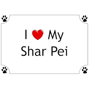 Shar Pei T-Shirt - I love my