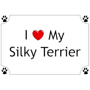 Silky Terrier T-Shirt - I love my