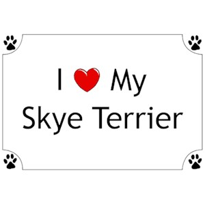 Skye Terrier T-Shirt - I love my