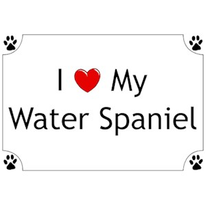 American Water Spaniel T-Shirt - I love my