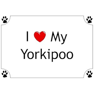 Yorkipoo T-Shirt - I love my