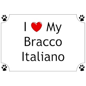Bracco Italiano T-Shirt - I love my