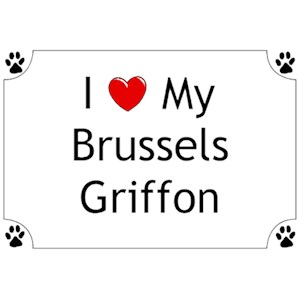Brussels Griffon T-Shirt - I love my