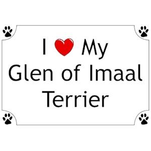 Glen of Imaal Terrier T-Shirt - I love my