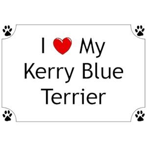 Kerry Blue Terrier T-Shirt - I love my