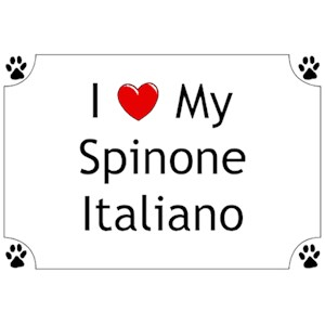Spinone Italiano T-Shirt - I love my