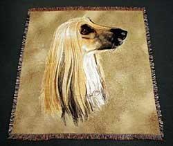 Afghan Hound Blanket