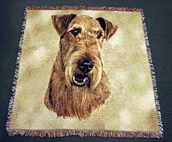 Airedale Terrier Blanket