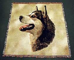 Alaskan Malamute Blanket