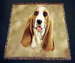Basset Hound Blanket