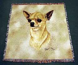 Chihuahua Blanket Tan