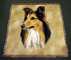 Collie Blanket