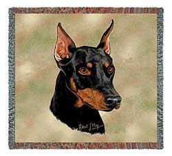 Doberman Pinscher Blanket