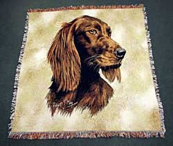 Irish Setter Blanket