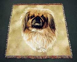 Pekingese Blanket