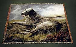 Scottish Deerhound Blanket