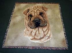 Shar Pei Blanket