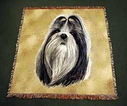 Shih Tzu Blanket